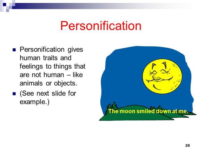 Personification Poem Definition Textpoems