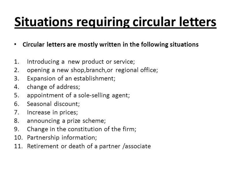 Circular Letter Introducing A New Product Poemsrom