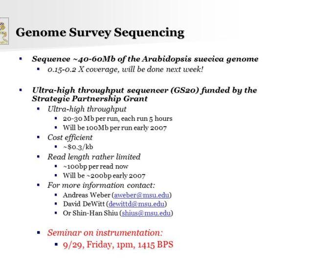 Genome Survey Sequencing  Ef 82 A 60mb Of The Arabidopsis Suecica Genome  Ef 82 A7 X