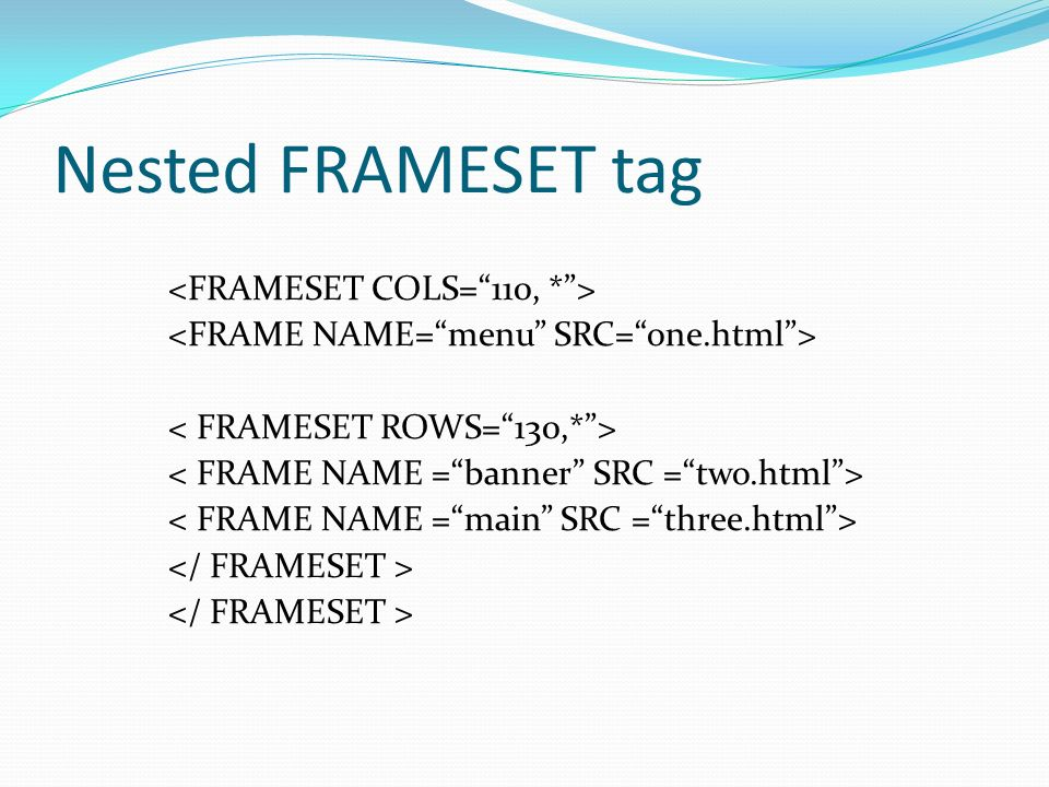 html tag frame | Framess.co