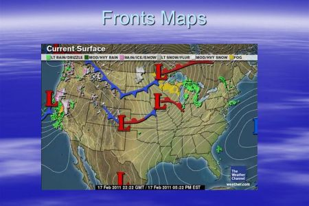 Reading Weather Maps  Meteorologist        A meteorologist is a person     9 Fronts Maps