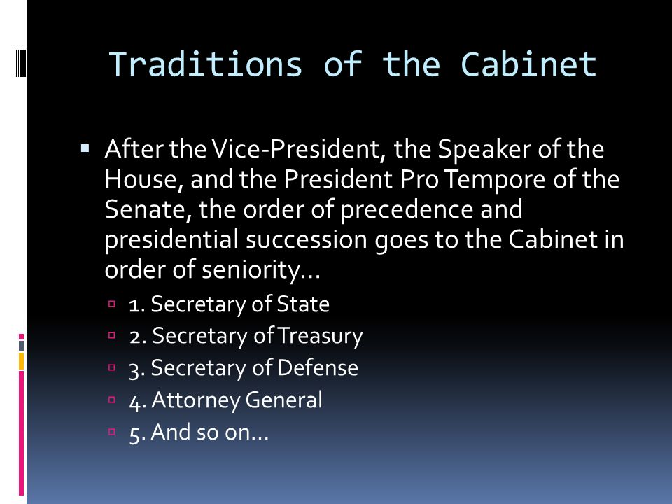 15 Cabinet Departments In Order Of Creation | Centerfordemocracy.org