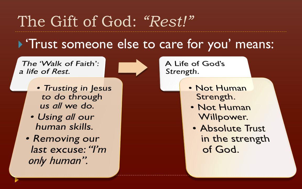 Image result for trust in God's rest image