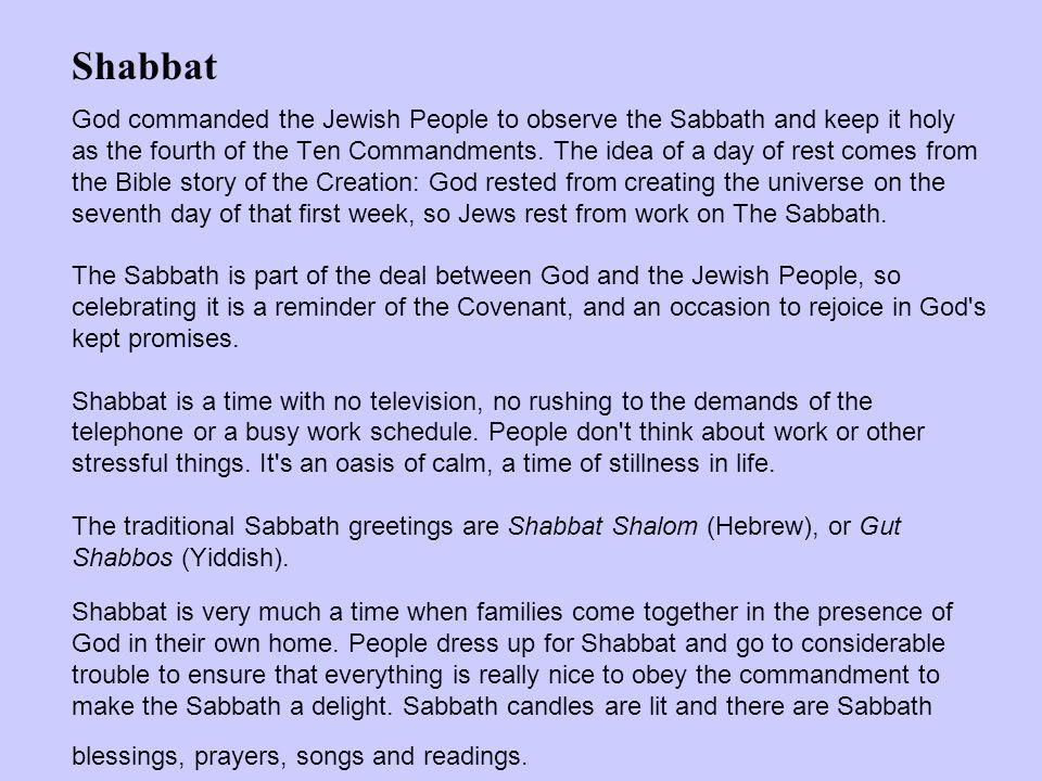Image result for ten commandments shabbat