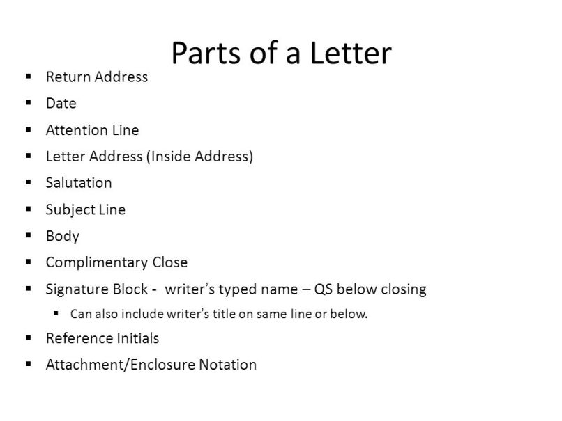 Business Letter Sample Ppt | Inviview.co