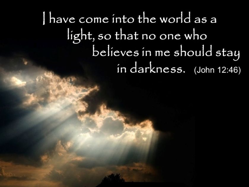 Image result for John 12:46