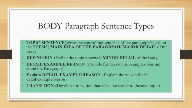 Paragraph Ordering