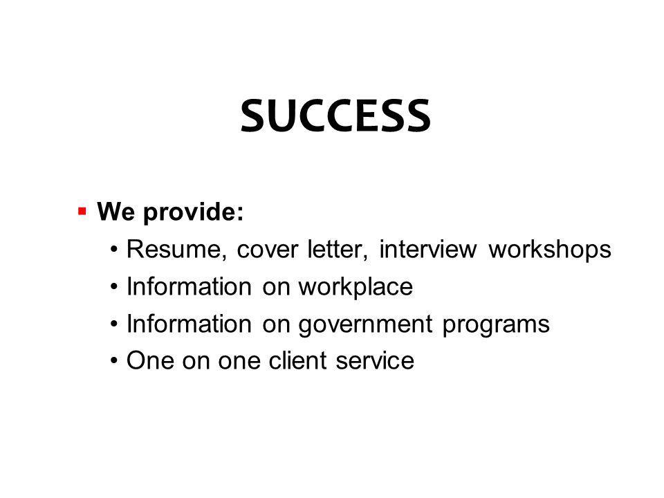 workshops include conduct peer resume activitiesassociations