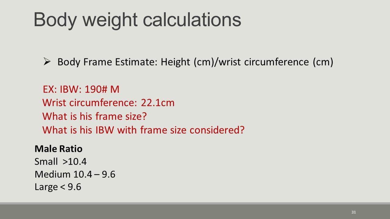 Body Frame Size Calculator Wrist | Viewframes.org