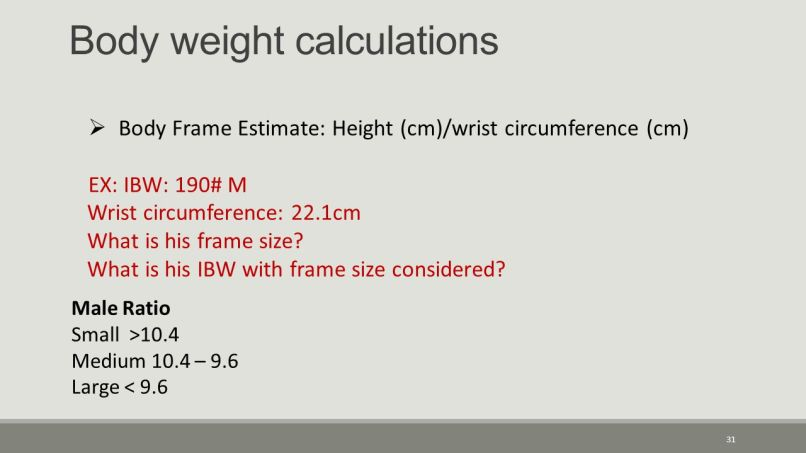 Calculating Body Frame Size Wrist | Framess.co