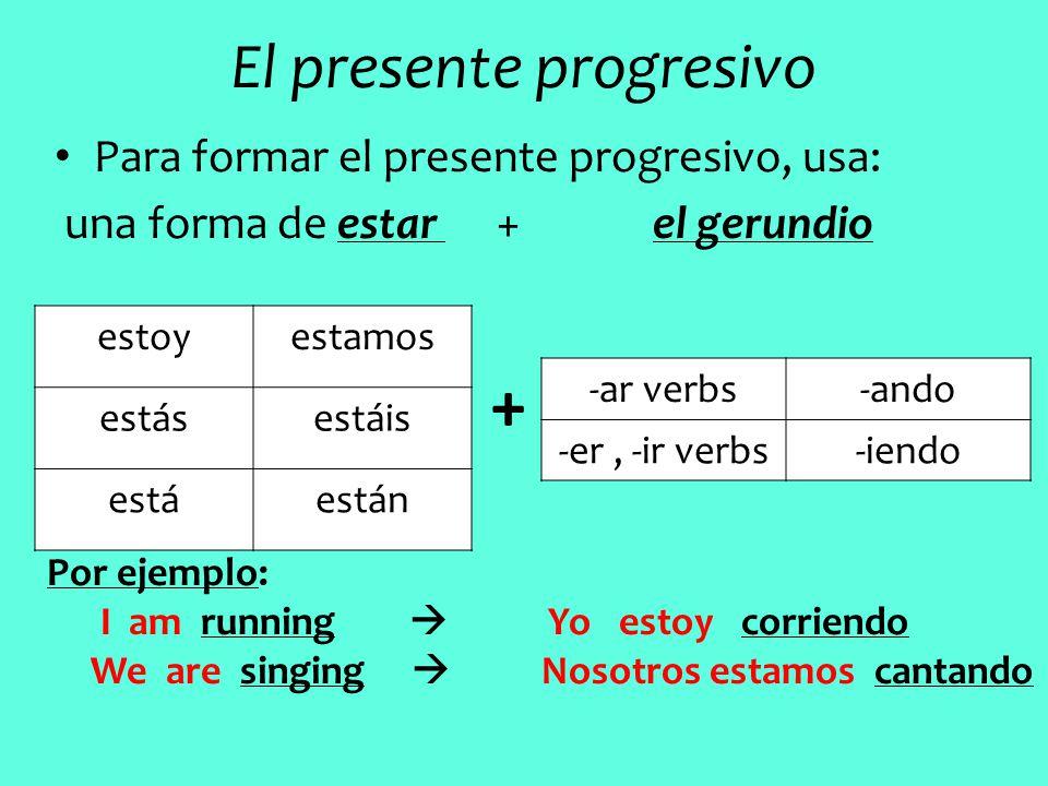 Present Progresive Blogdeingles97