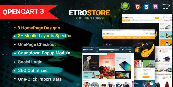 Nova - Responsive Fashion & Furniture OpenCart 3 Theme with 3 Mobile Layouts Included - 14