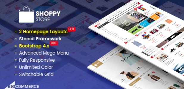 ShoppyStore - Multipurpose Stencil BigCommerce Theme & Google AMP Ready
