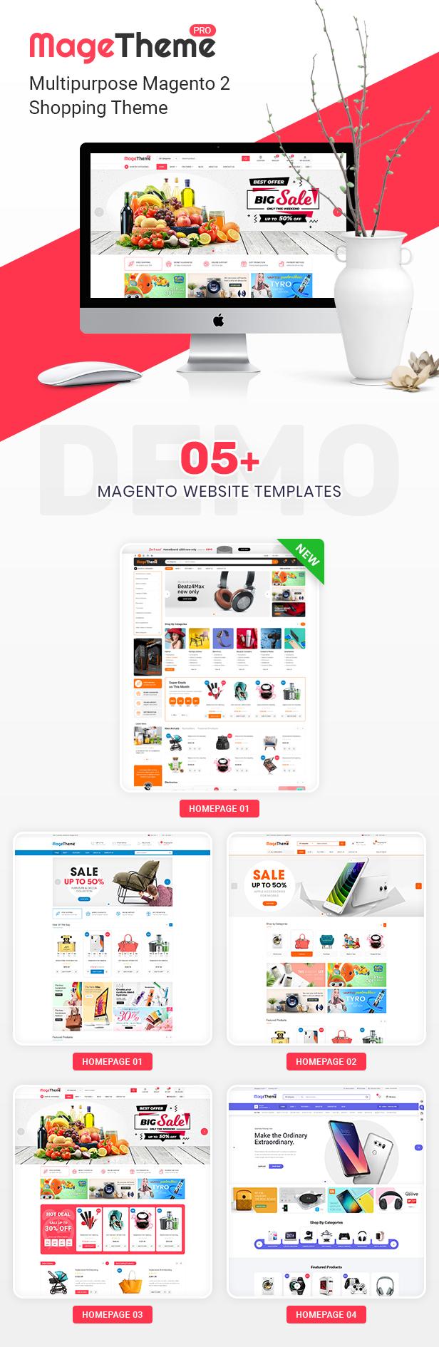 MageThemepro - Responsive Magento 2 Shopping Template - 3