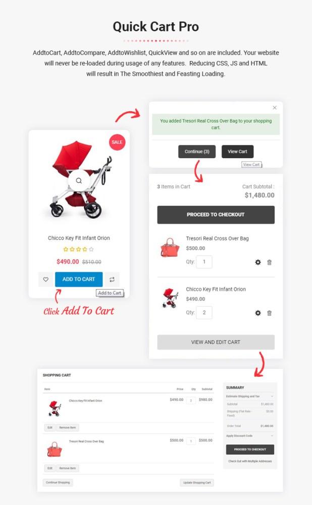 MageThemepro - Responsive Magento 2 Shopping Template - 6