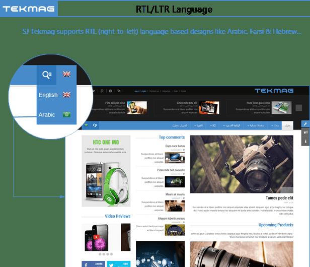 SJ Tekmag - RTL Language
