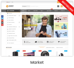 Market - Multistore Responsive Magento Theme with Mobile-Specific Layout (24 HomePages) - 9