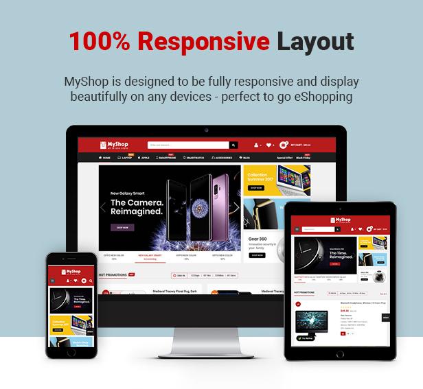 myshop - Opencart Theme