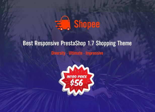Shopee - MultiPurpose PrestaShop 1.7 Responsive Theme - 1