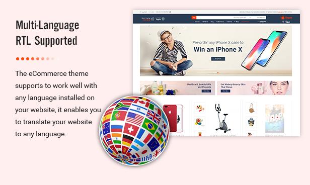 Shopee - MultiPurpose PrestaShop 1.7 Responsive Theme - 8