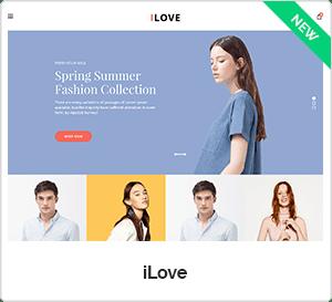 Ilove - Multipurpose Responsive WooCommerce WordPress Theme