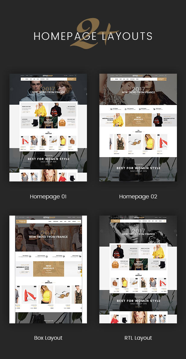 SW StyleShop - HomePages