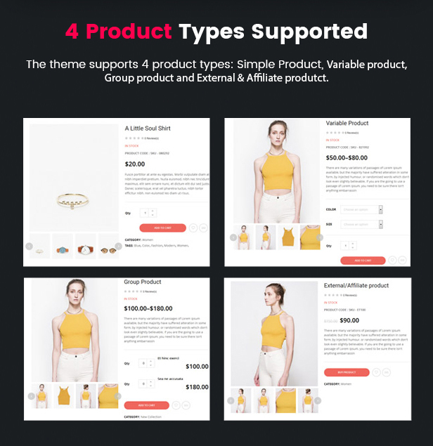 Product Layouts