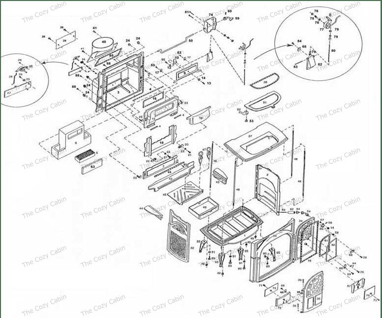 Montecito Wood Stove Rheostat Wiring Diagram