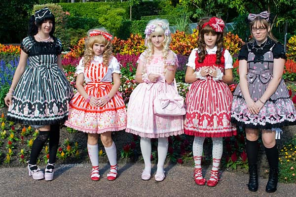 Japan's 'Lolita' fashion movement is on the rise among Brisbane's youth.