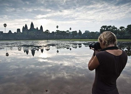 An eye for detail ... Angkor Wat.