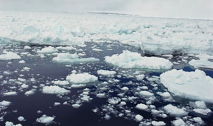 'There's no doubt about it - sea ice is going away.'