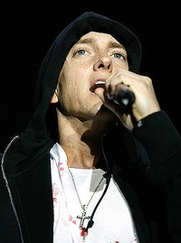 Eminem ... tickets for his Australian shows are selling like hot cakes.