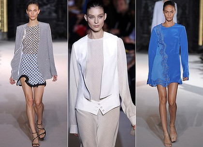Stella McCartney designs from the 2012 spring-summer ready-to-wear collection.