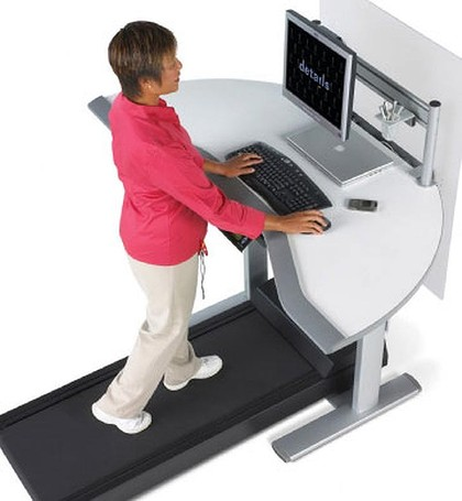 Life saver? The treadmill desk.