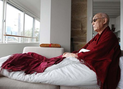 Time to think ... Choden Rinpoche spent 19 years in a room after China invaded Tibet.