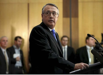 """His choice will always be to look after his vested interests"" ... Treasurer Wayne Swan said, of Tony Abbott."