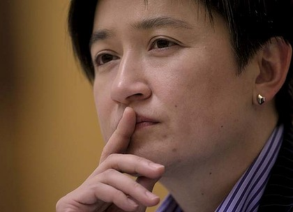 Same-sex marriage... proponent Penny Wong believes change will come.