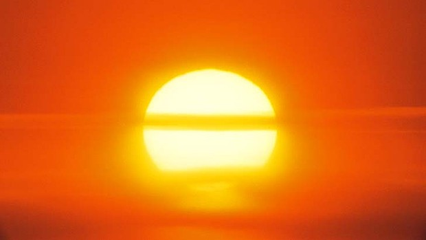 The mercury set to rise to 32 degrees tomorrow and 34 degrees on Sunday.
