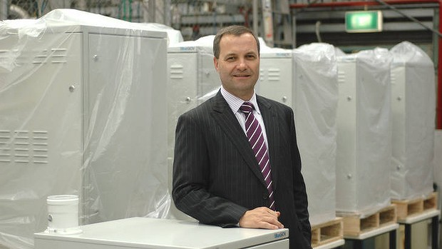 """The job of commercialising in Australia is just too difficult"" . . .  Ceramic Fuel Cells' managing director, Brendan Dow."
