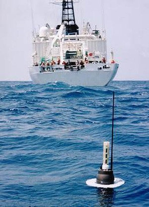 More than 3600 Argo buoys have been deployed globally.
