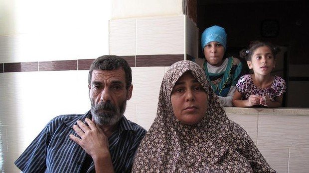 Mohamed Bakr, 52, and his wife Sahar, 46. Their son Mohamed, 10, died on the beach with his three cousins - hit by Israeli shells on July 16.