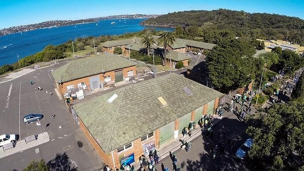 Green light: The federal government has approved a controversial proposal to convert former Defence buildings on Middle Head into an aged-care facility.