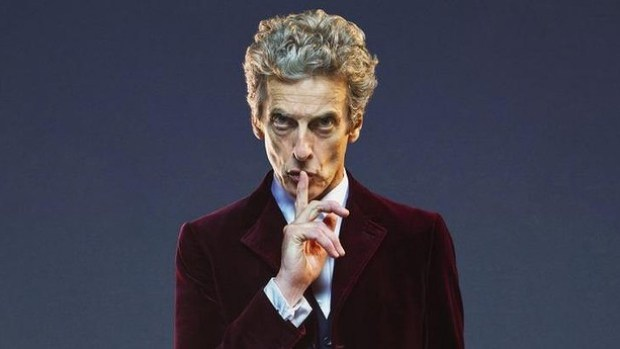 Peter Capaldi as the Doctor in <i>Doctor Who.</i>