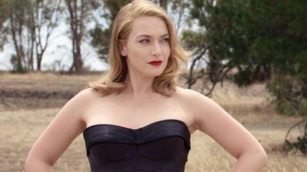 Stunning costumes: Kate Winslet in The Dressmaker.
