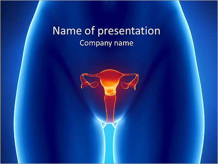 Gynecology Powerpoint Template Infographics Slides