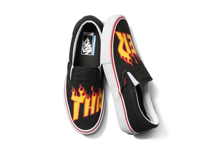 Vans x Thrasher Flame Logo Collection
