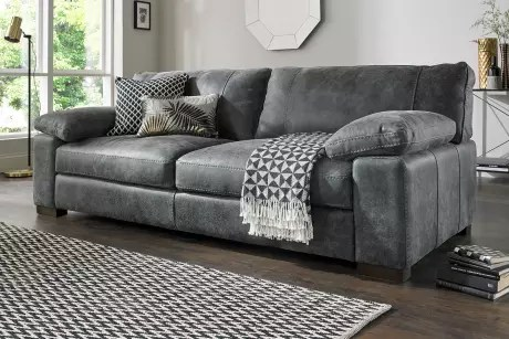 Leather Sofas  Corners and Chairs   Sofology Saved