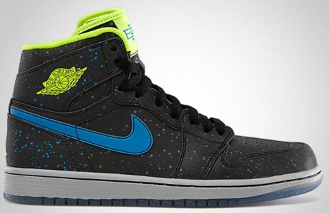 Air Jordan 1 Retro High BHM Black Volt Photo Blue White