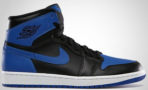 Air Jordan 1 Retro High OG Black Game Royal White