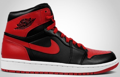 Air Jordan 1 High Retro DMP Black Varsity Red